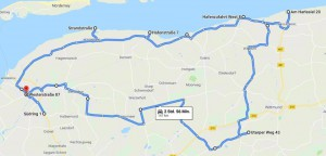 Route Herbstausfahrt 2019